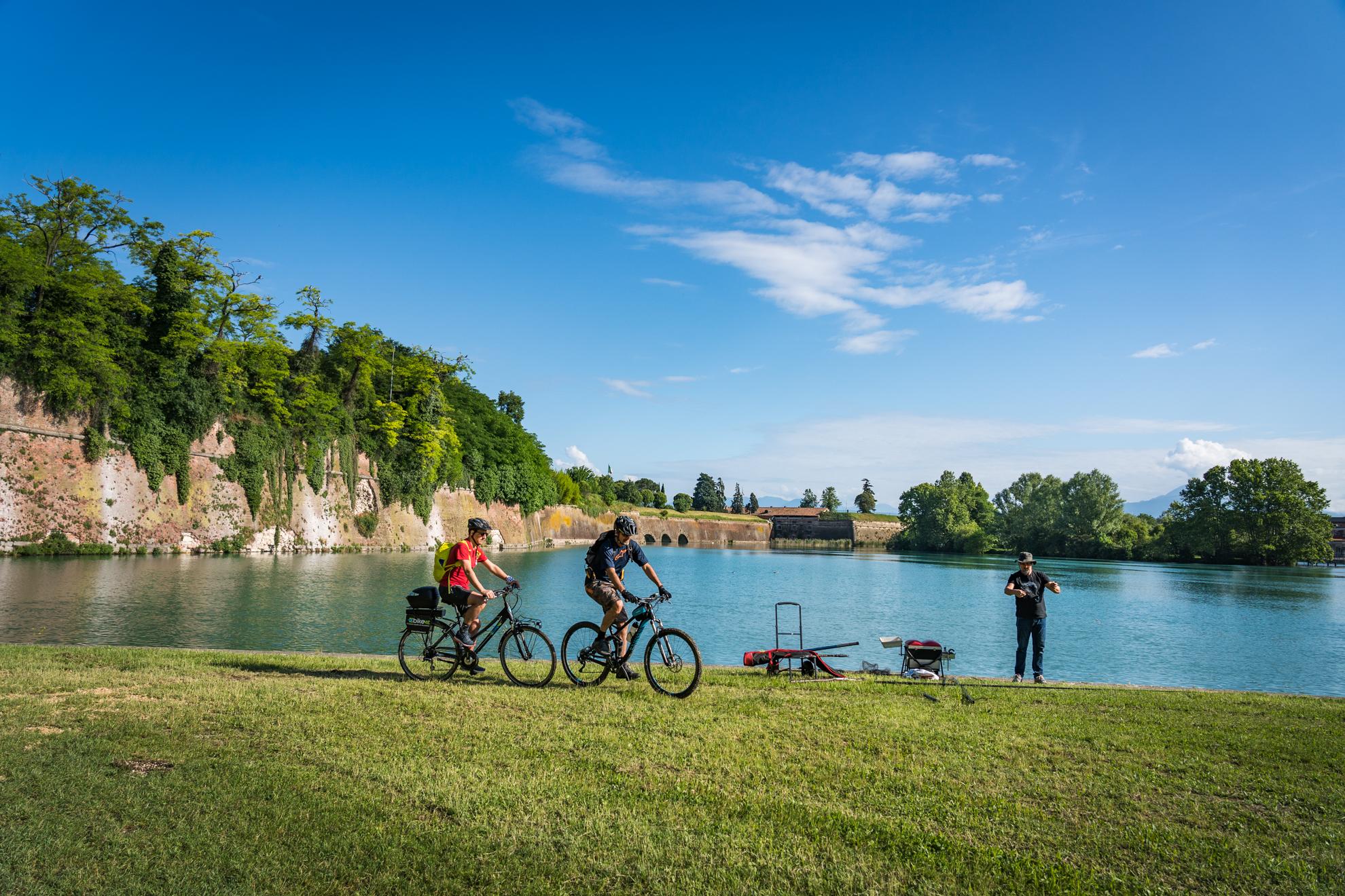 Peschiera-Mantova in bici con Orobike e Orobie