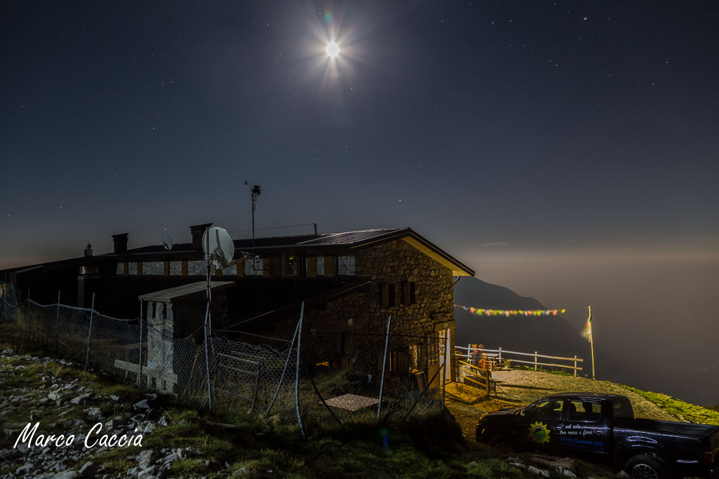 Trekking notturno sul monte Arera
