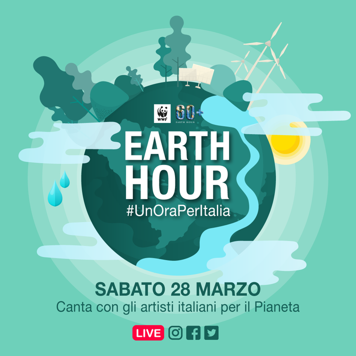 Sabato Un'ora per la Terra, un'ora per l'Italia