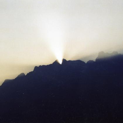 Equinozio d'autunno nella Valle dei Segni