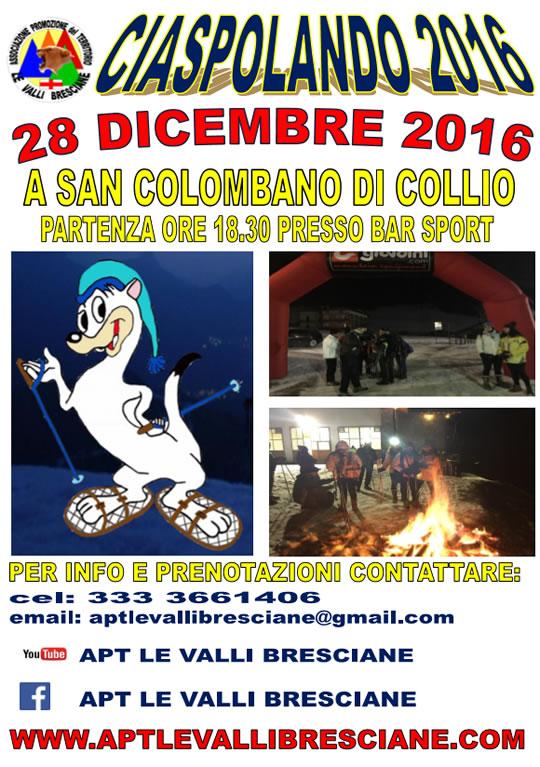 CIASPOLANDO 2016 A SAN COLOMBANO