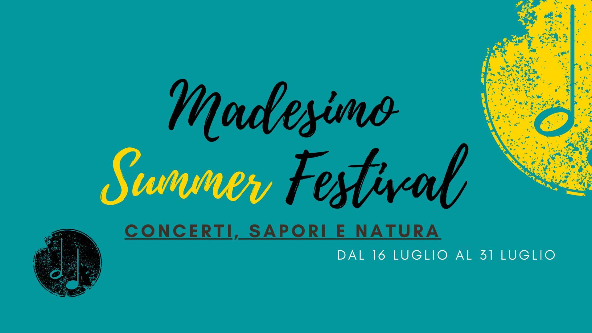 Madesimo Summer Festival, non solo musica