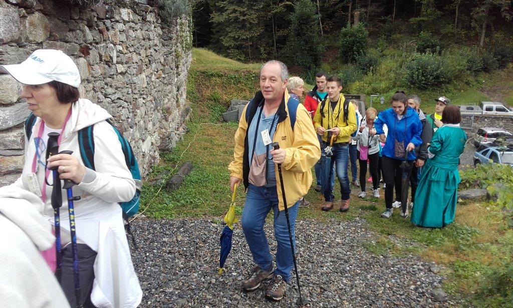 Camina e posa a Mazzo Valtellino
