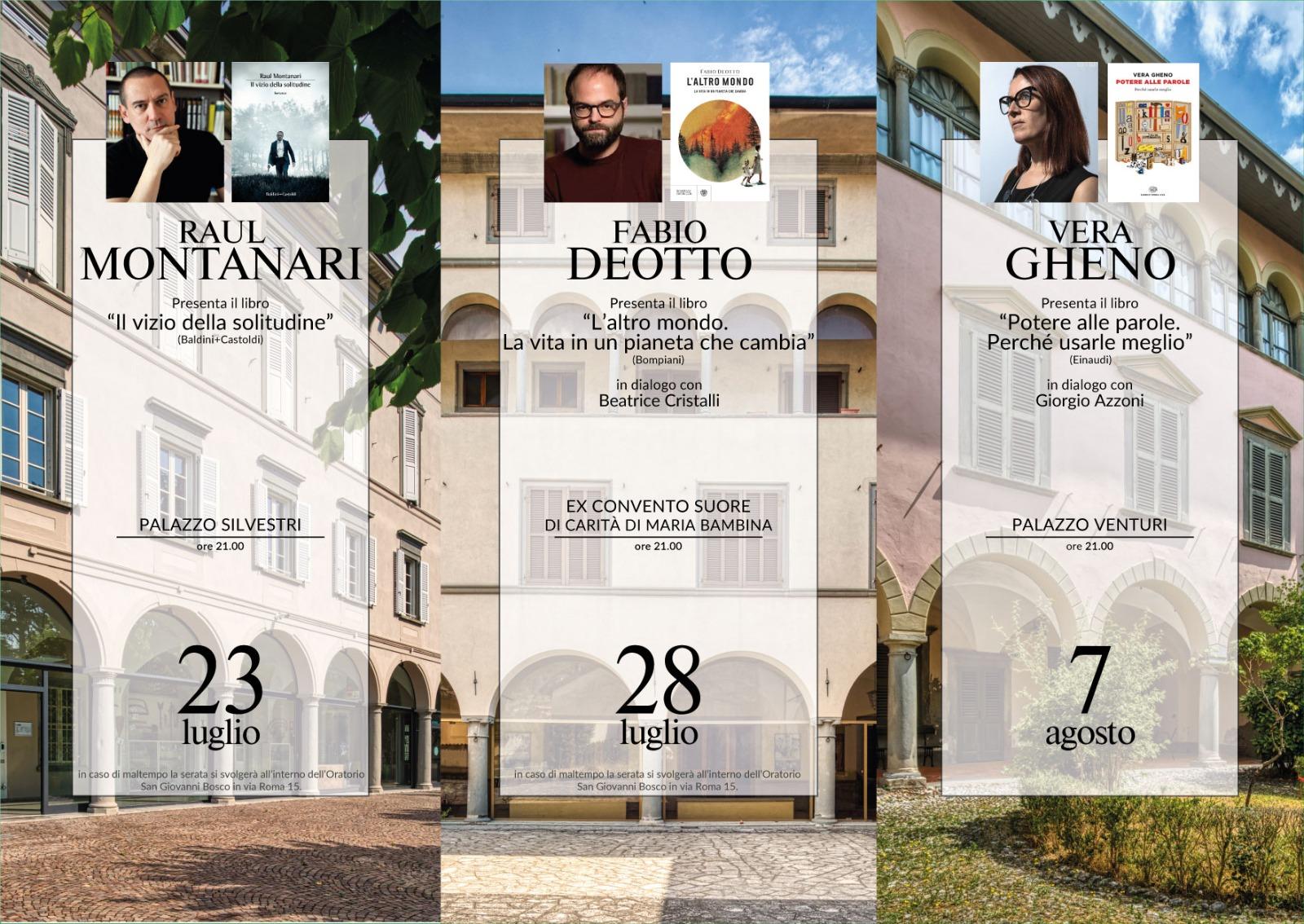 Torna Voci a Palazzo, la rassegna culturale che apre le porte delle dimore storiche di Sovere