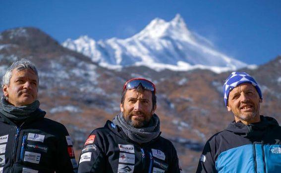 Simone Moro e Alex Txikon tornano al Manaslu
