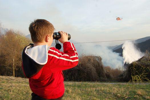 Revocato l'allarme per gli incendi boschivi