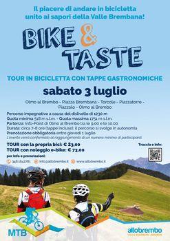 Bike & Taste in Alta Valle Brembana