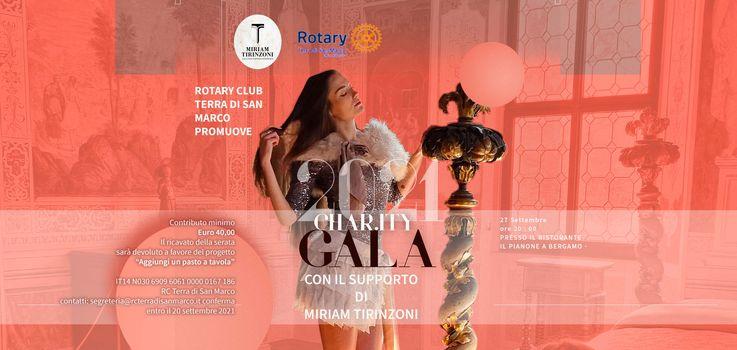 Rotary Terra di San Marco, serata Charity a Bergamo il 27 Settembre