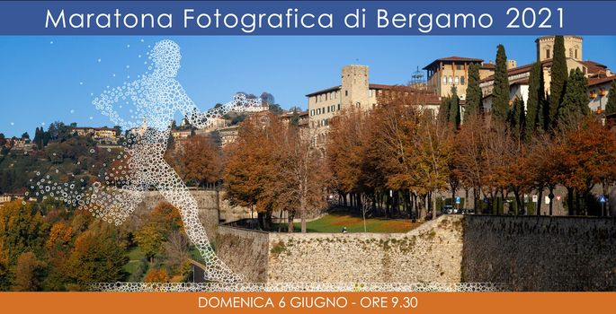 Maratona fotografica, appuntamento a Bergamo il 6 giugno