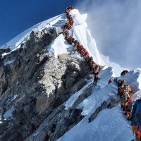 C'è molta gente che va in montagna, ma per molti non è  il loro posto!
