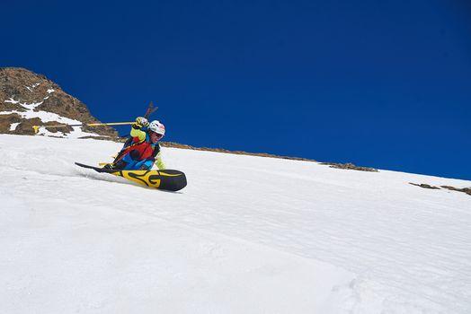 Con sci e snowboard dove nasce il Serio