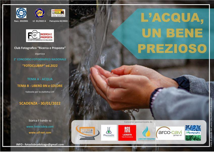 Acqua, un concorso fotografico nazionale