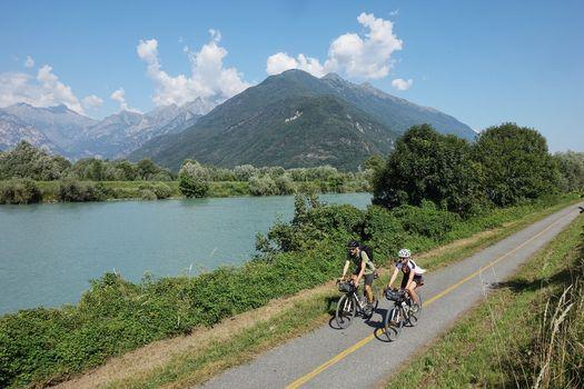 Adda, in bici da Cremona alle sorgenti