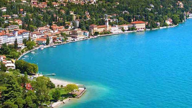 A Gardone Riviera la Bandiera Blu