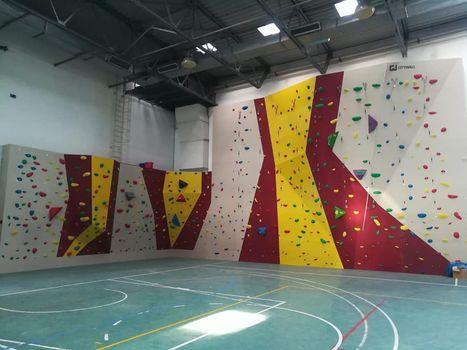 Olgiate Molgora, nuova parete di arrampicata