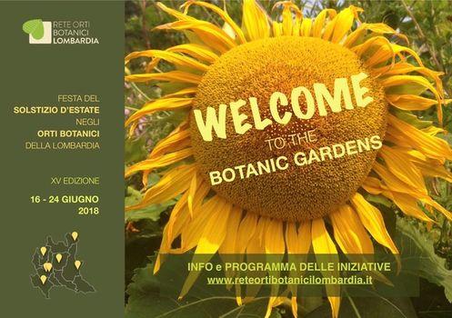 Solstizio d'estate negli Orti botanici