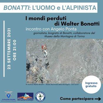 Una serata dedicata a Walter Bonatti