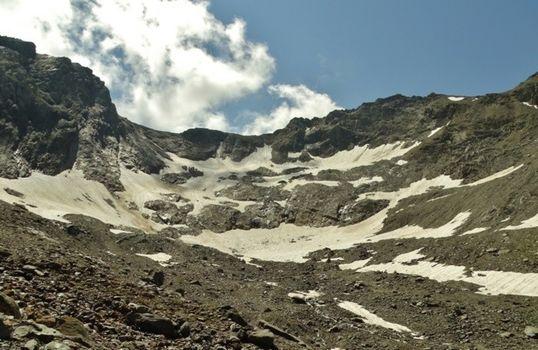 La triste sorte del ghiacciaio del Gleno