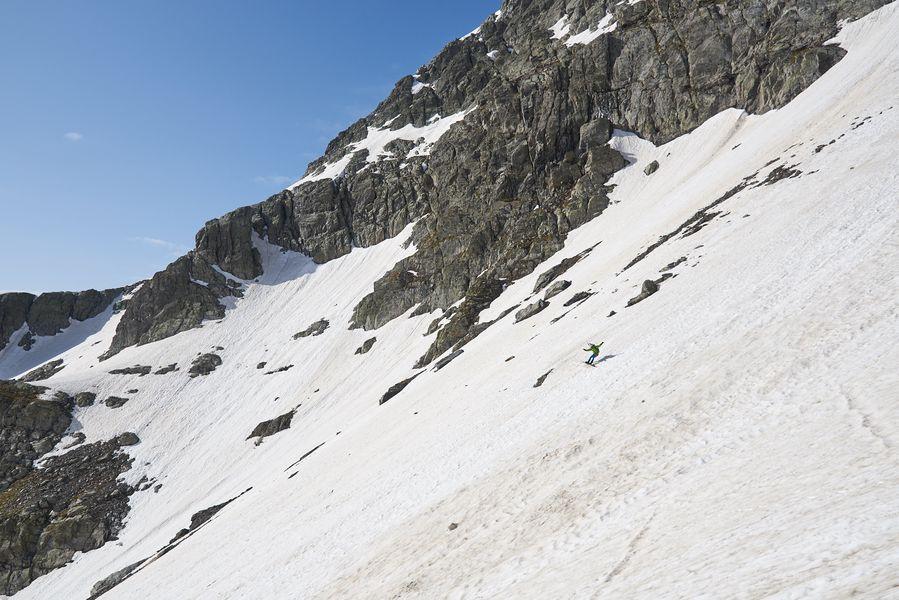 In snowboard per Mario Merelli