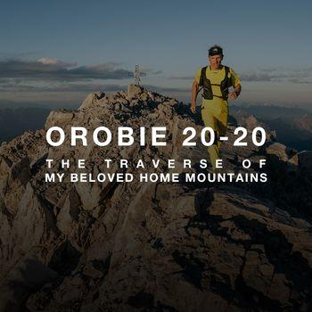 Simone Moro parte per la traversata delle creste delle Orobie