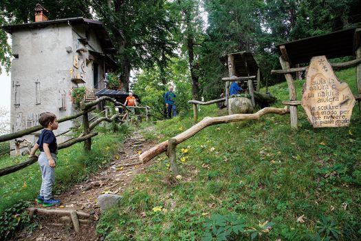 Clusone, a San Lucio per il roccolo Zuccone