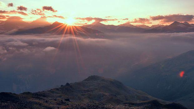 Bormio, alba a 3000 metri