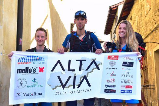Alta Via della Valtellina, Mattia è in cammino