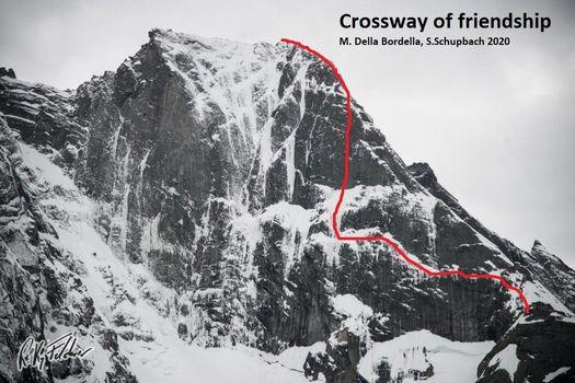 Crossway of Friendship, sul pizzo Badile una via per Matteo Bernasconi