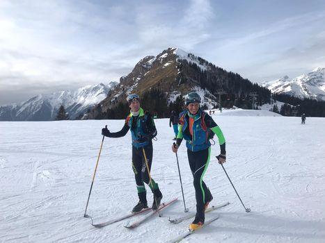 Everesting sulle nevi di Vodala