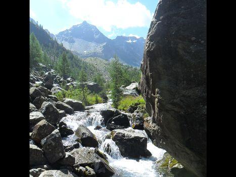 Da Chiesa Valmalenco all'Alpe Ventina
