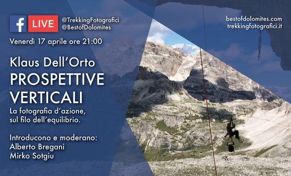 Fotografia verticale con Klaus Dell'Orto