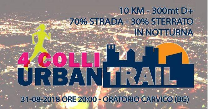 4 Colli Urban Trail, monte Canto di nuovo protagonista