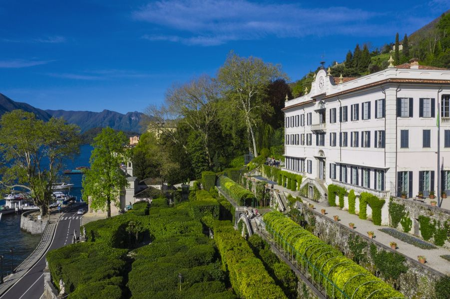 Villa Carlotta accoglie i visitatori