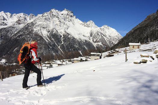 Una facile passeggiata all'Alpe Ponte