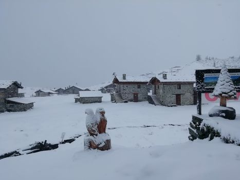 E' arrivata la neve!
