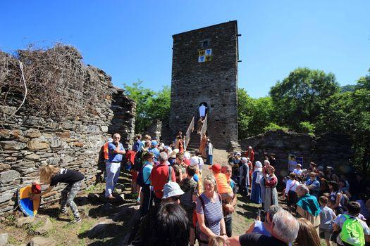 Doppio anello attorno alla torre di Fontanedo