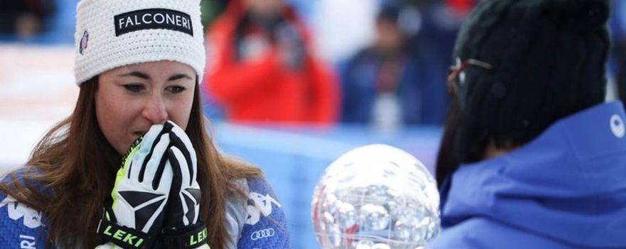 A Sofia Goggia la Coppa del Mondo di discesa libera