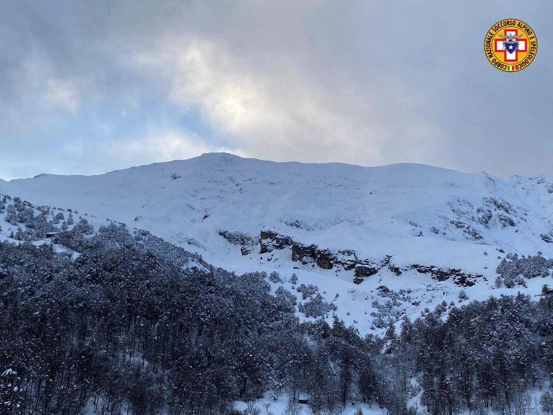 Valanghe e slavine sui monti lombardi