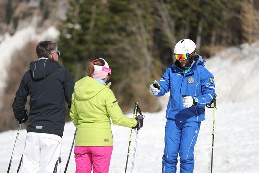 La preoccupazione dei maestri di sci