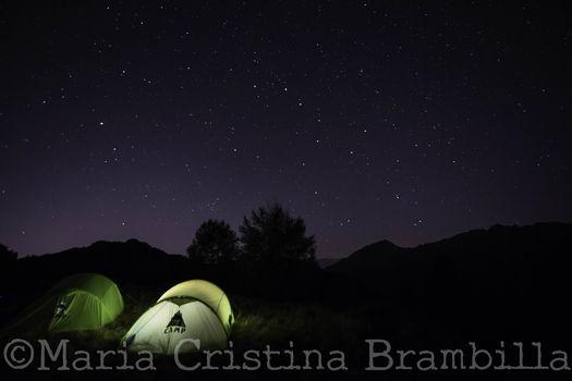 Eclissi di Luna o cielo stellato, le tante magie della notte in montagna