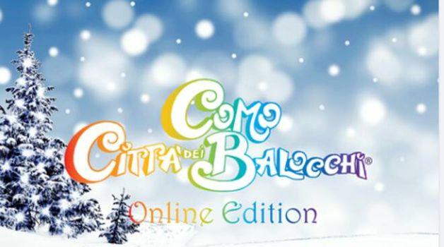 Città dei Balocchi, la magia del Natale va online
