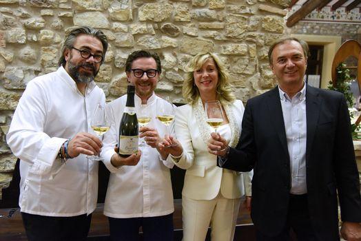 Due chef d'eccezione per festeggiare l'Emozione di un Franciacorta 1978