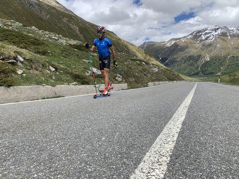 Livigno, la strada della Forcola aperta per gli sportivi