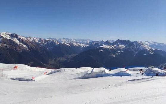 A Colere la Coppa del Mondo di para snowboard