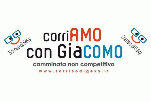 CORRIAMO CON GIACOMO, DOMENICA CAMMINATA BENEFICA