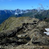 "28 agosto 2013 - Panorama da ""Ol Simal"", Alta Val Seriana, Orobie"