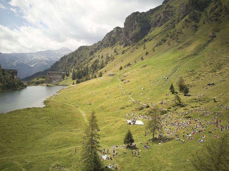 Escursione al laghetto del Gleno