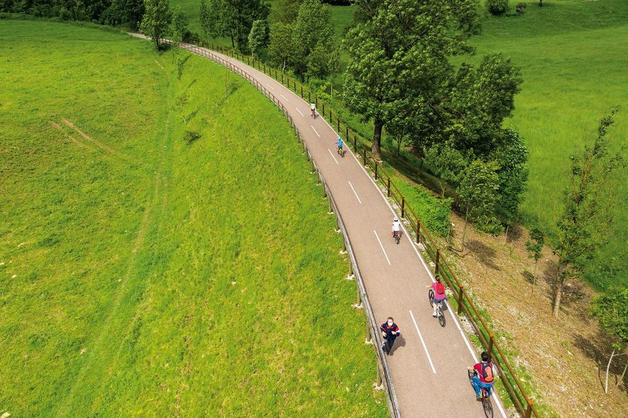 In bici da Bergamo fino a Piazza Brembana