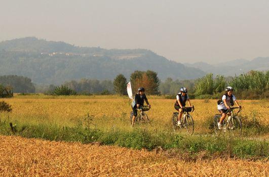 Con Vento in bici da Venezia a Torino