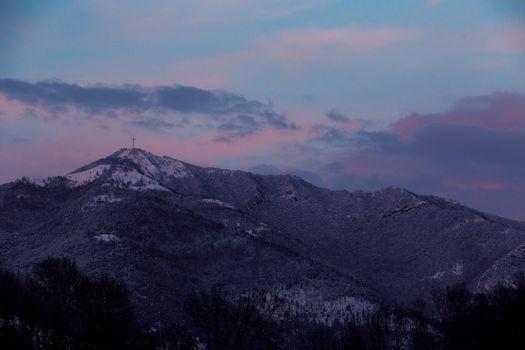 Da Bergamo al Canto Alto nella neve